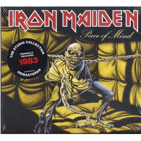 Cd Iron Maiden Piece Of Mind 1983 Lacrado - Digipack