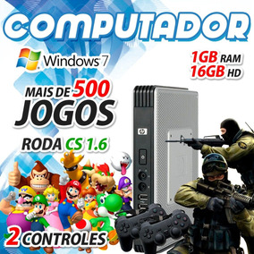 Computador Barato Com Jogos Cs Mario Donkey Kong