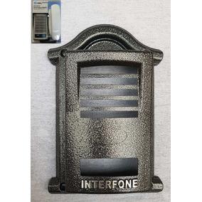 4 Peças Protetor De Interfone Hdl F8ntl Cor Prata