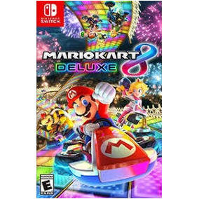 Combo 2 Jogos Switch Mario Kart Ou Odissey + Zelda