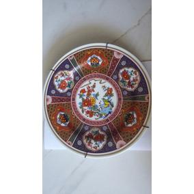 Prato Porcelana Dp Handcrafted 20-24 Karat Gold A