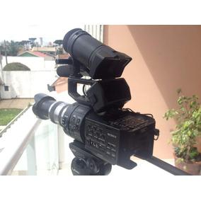 Filmadora Sony Nex Fs700r 4k Com Lente Sony 18-200m