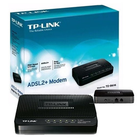 Modem Tp-link Td-8616 Banda Ancha Red Internet Tienda Fisica