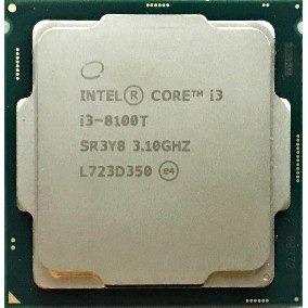 Core I3 8100t Lga Socket 1151 3.10 Ghz Oem 8ªg. Com Garantia