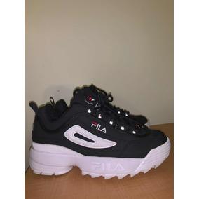Fila Disruptor 2 Black/white Blanco / Negro Dad Sneakers