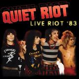 Quiet Riot - Live Riot 83 - Lp - Vinil Colorido