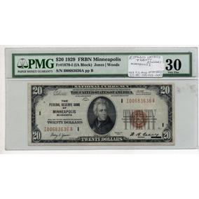 Estados Unidos 20 Dollares 1929