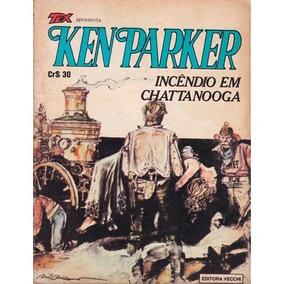 Gibi Ken Parker 22 Incendio Em Chattanooga 1980 Vecchi