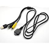 Cable Usb Audio Video X Camara Sony Dsc-w110 W120 W130 W150