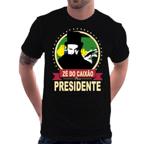 Camiseta Zé Do Caixão Para Presidente Coffin Joe José Mojica 9250d80b96062