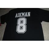 Playera Nfl Dallas Cowboys Troy Aikman Conm. Blue Navy