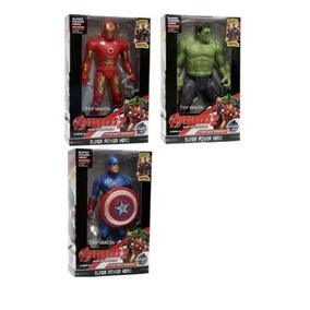 Muñeco De Avengers - Hulk - Capitan America - Thor