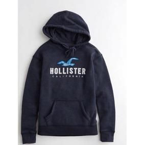 Blusa De Moletom Hollister Feminina Original. R  249 aede14cafd03e