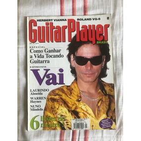 Revista Guitar Player N°1 #1 Steve Vai - Janeiro De 1996