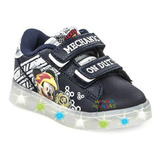 Zapatillas Disney Mickey Con Multi Luces Addnice Mundomanias