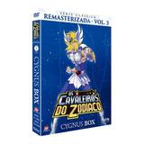 Box Dvd Cavaleiros Do Zodíaco Série Clássica Cygnus - Vol.3
