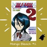 Panini Manga Bleach Latino Tomo 2