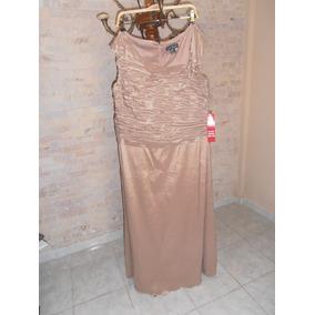 Vestido De Noche Para Dama Nuevo Coctel Largo Talla Plus
