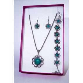 65c3767b30b8 Piedras Verdes Collares en Mercado Libre México
