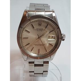 c7637b7b4ff Rolex Vintage Date Aço Ref. 1501 Anos 70 Mostrador Prata. R  12.410
