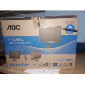 Monitor Led 16 Pulg Aoc
