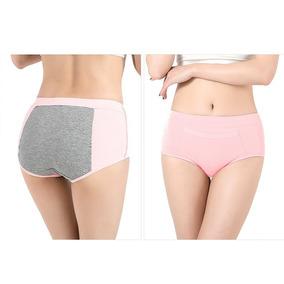 Panty Del Periodo Calzón Anti Fuga Menstruación Con Bolsillo