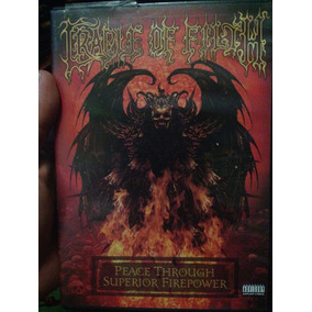 Cradle Of Filth Dvd Peace Through Superior Firepower 330450bf4ec9b