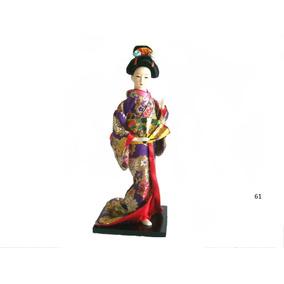 Boneca Oriental Japonesa Gueixa Vários Modelos