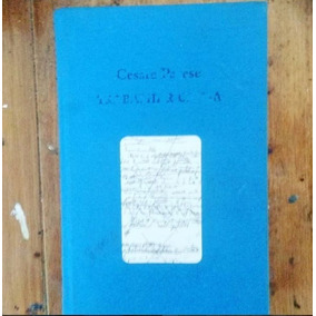 Livro Trabalhar Cansa , Cesare Pavese (poesia)