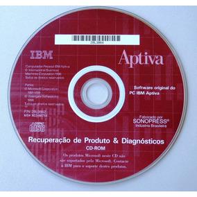 Cd Ibm Aptiva - Software 1998 (recuperação E Diagnóstico)