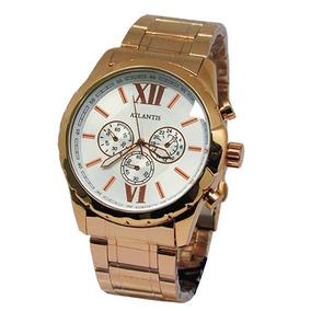 14d057cc0ae Relogio Feminino Rose Atlantis - Relógios De Pulso no Mercado Livre ...