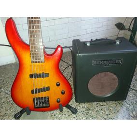 Bajo Johnson By Axl Y Amplificador Behringer Bass Otros Preg