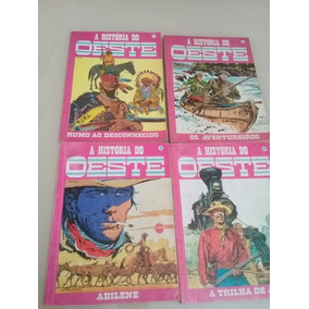 Lote A História Do Oeste N° 1, 2, 32 E 35 Ed. Record