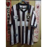 b78b75d2e5 Camisas Do Botafogo Retro Com Cordinhas E Escudo no Mercado Livre Brasil