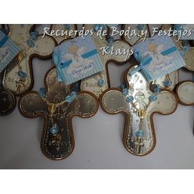 5 Cruces Pewter Para Bautizo, Presentación, Comunion