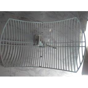 Antena Par 2.4 Ghz 24 Db Grillada Direccional