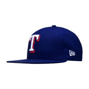 7 1/4 - Azul Marino - Gorra New Era Mlb Rangers Texas