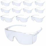 Óculos De Proteção Incolor Sky Wps0206 12 Peças Delta Plus 19e38d4dfa