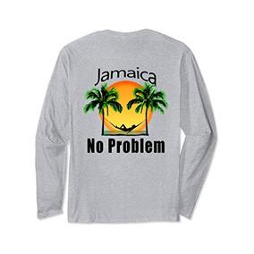 c9104bbf645b1 Unisex Jamaica No Problem Island Camiseta Manga Larga Vacaci