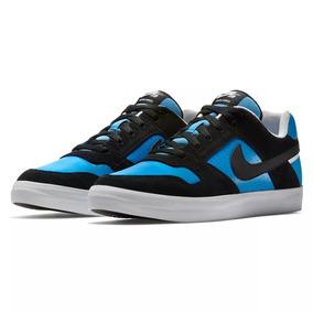 Nike Sb Zapatilla Hombre Lifestyle Delta Force Vulc Azul Neg 9e57a54a3f8d6