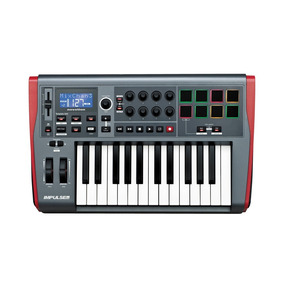 Teclado Controlador Novation Impulse 25 Midi Usb - Tc0016
