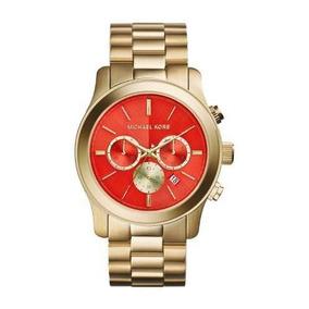 a227b0b1f9a Relogio Michael Kors Laranja - Relógios De Pulso no Mercado Livre Brasil