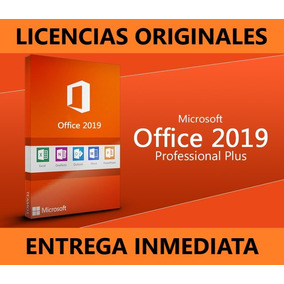 Office 2019 365 - 5 Pc - Original - Word - Excel - Permanent