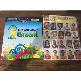 Álbum Capa Dura Copa Do Mundo 2014 Completo + 71 Atualização