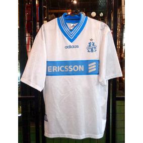 2617ac8c9489f Camiseta Olympique De Marsella De Francia Uhlsport Años 90 ...
