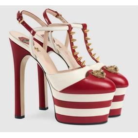 Sapato Plataforma Importado Inspiração Gucci - Frete Grátis