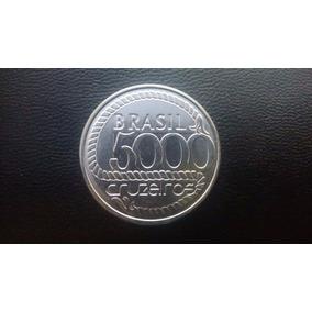 Moeda De 5000 Cruzeiros De 1992