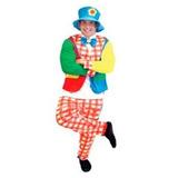 Fantasia Masculina Palhaço Com Chapéu - Tamanho Único df2605e1d70