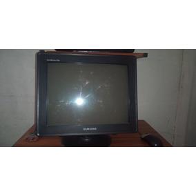Monitor Crt De 17 Pulgadas Samsung Usado Pero Excelente