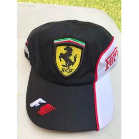 Gorra Ferrari Negra - Ropa 711c3ef83dc